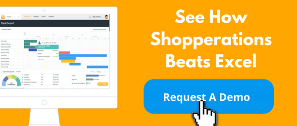 See how Shopperations beats Excel