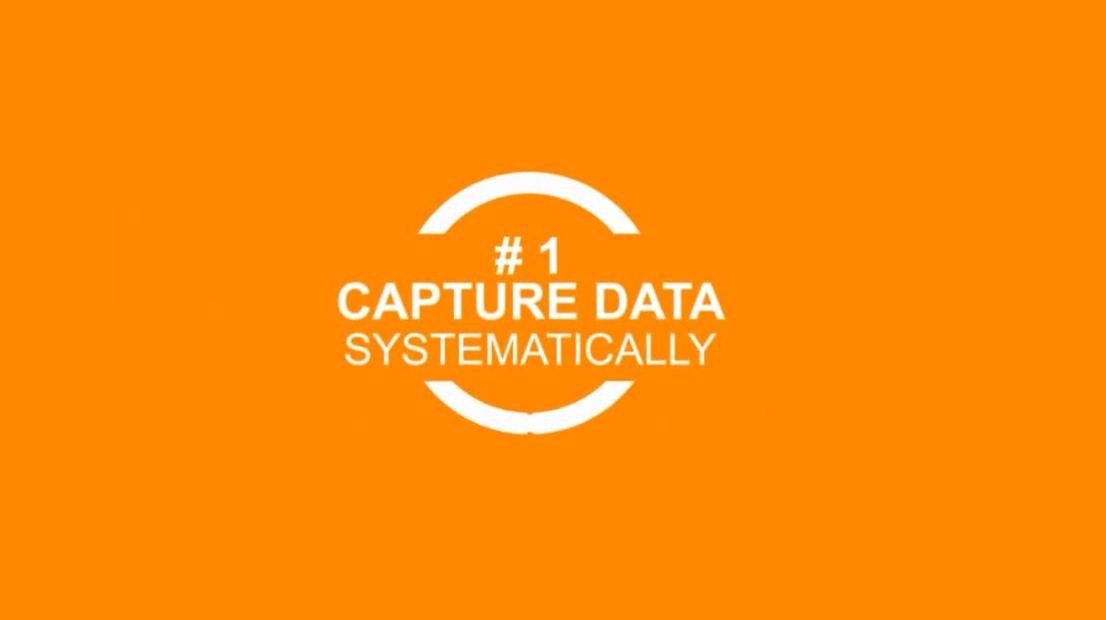 CPG Marketers: Capture data systematically